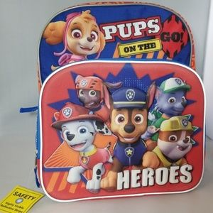 Paw patrol backpack brand NEW with tags attached